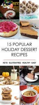 15 popular low carb dessert recipes