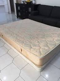 queen bed mattress with base for immediate pick up beds