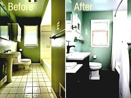 Small Bathroom Makeovers Before And After - before and after small bathroom makeovers u2013 pamelas table