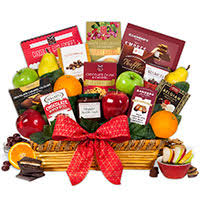christmas fruit baskets christmas gift baskets by gourmetgiftbaskets