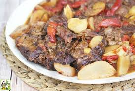 gluten free slow cooker pot roast this mama cooks on a diet