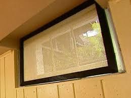 basement window blinds