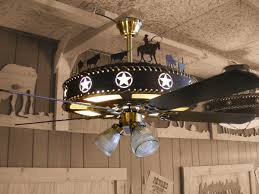 Western Ceiling Fans With Lights Iron Works Rustic Western Lighting Pertaining To Ceiling