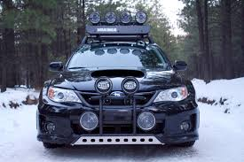 subaru forester off road lifted hella lights hella lighting pinterest