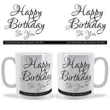 happy birthday design for mug happy birthday to you personalised celebration mug brinley williams
