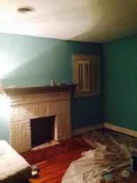 my turquoise living room using benjamin moore waterfall love it