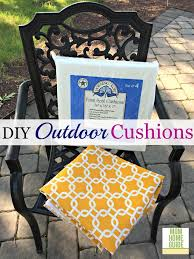 Patio Chair Seat Pads Diy Outdoor Seat Cushions Outdoor Seat Cushions Seat Cushions