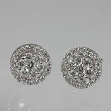 rositas earrings genuine 1 37 ctw diamond rositas earring 18kt white gold