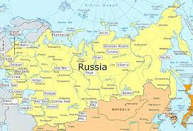 russia in maps clickable map of the geography of russia