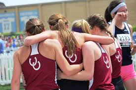 a letter from montini girls track u0026 field douglas heel