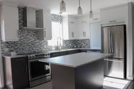 cuisine 2 couleurs armoires de cuisine en polyma re deux galerie et cuisine deux