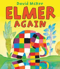 Elmer The Patchwork Elephant Story - elmer the elephant waterstones
