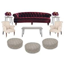 Rosa Sofa Rosa Luxe Sofa Rental In New York U2013 Two Of A Kind Furniture Rentals
