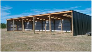 How To Build A Pole Barn Shed by Farm Shed Building Plans