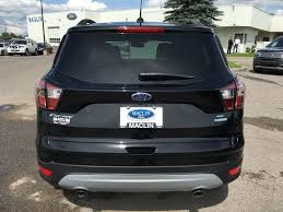 ford escape 2017 black used 2017 ford escape se in calgary 17es00806 maclin ford