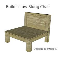 Plans For Outdoor Wooden Chairs by 110 Best Patio Chair Plans Images On Pinterest Outdoor Furniture