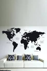 articles with world map wall mural wallpaper tag map wall mural world map wall mural wallpaper black world map wall decal by brewster home fashions on hautelook