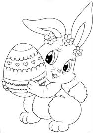and print preschool cute easter bunny coloring pages pracovní