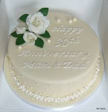 traditional 30th anniversary gift 30th wedding anniversary cake ideas gift ideas bethmaru