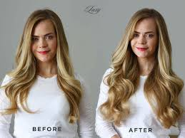 before after luxy hair