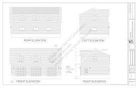 g445 plans 48 u0027 x 28 u0027 x 10 u0027 cape cod garage plans blueprints with