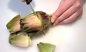 cuisiner les artichauts violets parer l artichaut violet les fruits et légumes frais