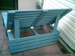 Pallet Patio Furniture Pinterest by Pallet Lounge Chair Pallet Lounge Chair Homemade Garden Lounge