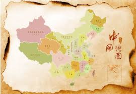Map Of China by Retro Style Parchment On The Map Of China China Psd File Free
