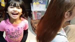 hair cute for 6 year old girls 6 year old girl braiding mom s hair she learned to braid when