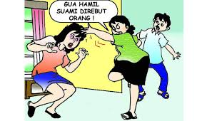 Istri Takut Hamil Pangku Pangkuan Sama Janda Saat Istri Sedang Hamil Tua Poskota News