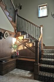 Banister Staircase Wrought Iron Balusters Staircase Traditional With Baseboard Black