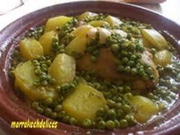 cuisine choumicha poulet tajine de poulet aux petits pois choumicha cuisine marocaine