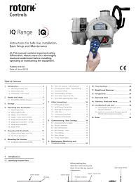 instruction manuals for installation and maintainance pdf valve