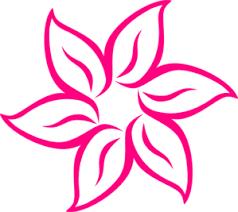 pink flower pink flower 7 clip at clker vector clip online