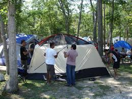 adventure bound camping resorts cape may youtube