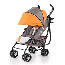 Baby Jogger Strollers Babies by Summer Infant 3d One Convenience Stroller Solar Orange Baby