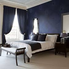 royal blue bedroom curtains best blue and white polyester embroidered floral pattern bedroom