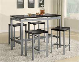 Two Tone Pedestal Dining Table Kitchen Glass Pedestal Table Dining Table For 4 Chairs Glass