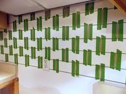 Painted Subway Tile Backsplash Remodelaholic - Painted tile backsplash