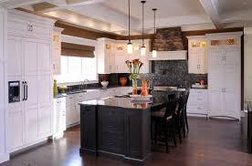 photo cuisine avec ilot central cuisine aménagée avec ilot central deco maison moderne