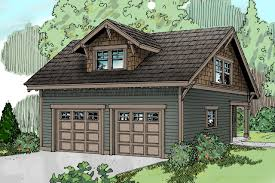 craftsman house plans garage w studio 20 007 associated designs garage plan 20 007 front elevation