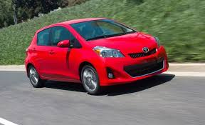 2012 toyota yaris reviews 2012 toyota yaris hatchback automatic test review car and driver