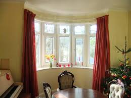 Curtain Decorating Ideas Inspiration Bay Window Decor Ideas Irrr Info