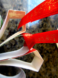 recycled christmas card ornaments diy inspired
