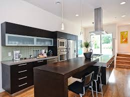 Eat In Kitchen Island Kitchen Eat In Kitchen Design Features Slanted Exposed Beam