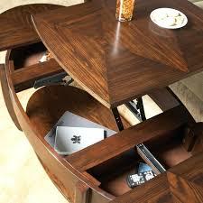 pie shaped lift top coffee table coffee table ottoman diy