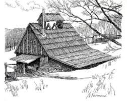 barn sketches etsy
