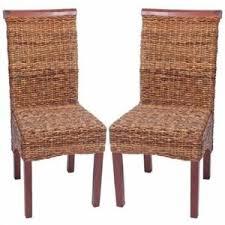 chaises tress es chaises de salle a manger tressees achat vente pas cher