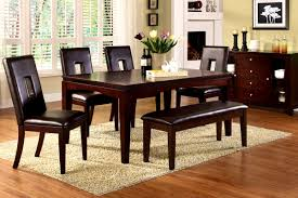 Queen Anne Dining Room Chairs Bathroom Prepossessing Cherry Finish Dining Room Table Home