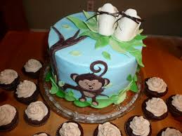 monkey themed baby shower cakes u2014 liviroom decors make your